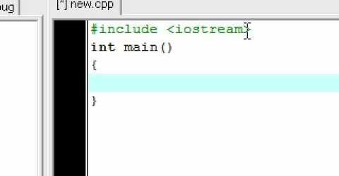 C++ Tutorial 2 – The Basic Syntax and Functions