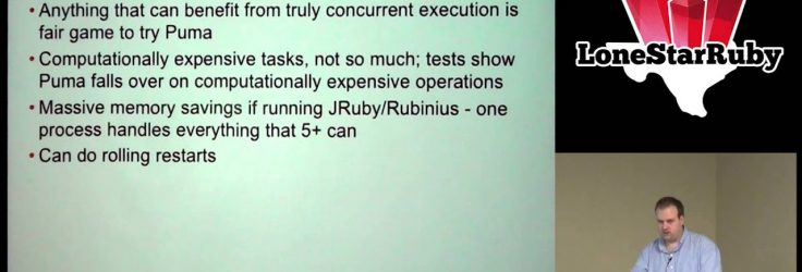 Comparing Ruby Application Servers