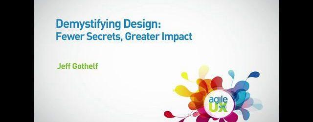 Demystifying Design