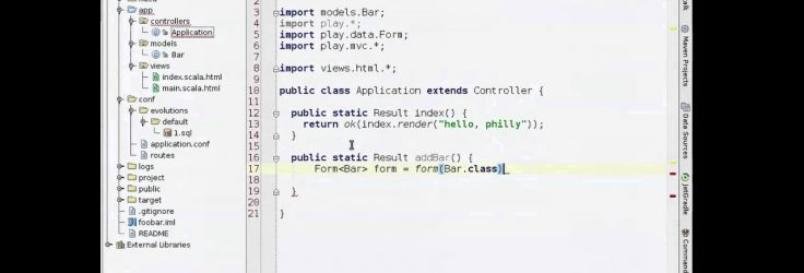 HTML5 Apps in Java & Scala with the Play Framework