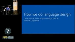 Language Design at Microsoft: VB and C#
