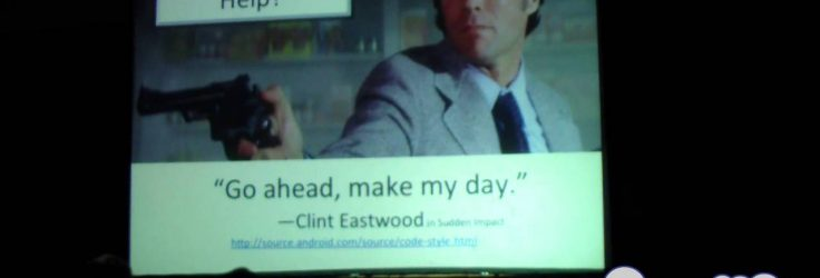 Maintaining Your Code Clint Eastwood Style