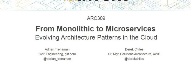 Microservices Architecture Patterns in the Cloud