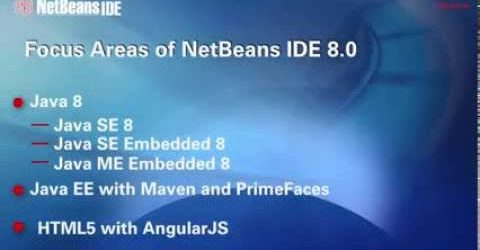 Overview of NetBeans IDE 8