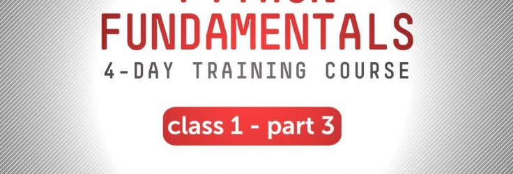 Python Fundamentals Training – More Container Types