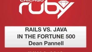 Ruby on Rails versus Java in Fortune 500 Companies