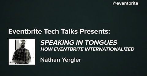 Speaking in Tongues: How Eventbrite Internationalized