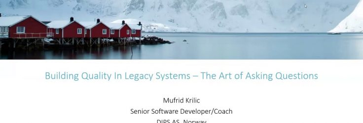 Building Quality in Legacy Software Systems