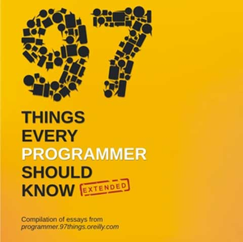 Book Review: 97 Things Every Programmer Should Know Extended